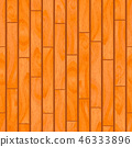 Realistic wooden boards with texture, parquet seamless pattern 46333896