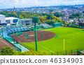 รูปภาพของสนามเบสบอล 46334903