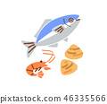 อาหารทะเล 46335566