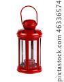 Lantern red metal 46336574
