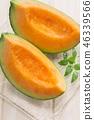 新鮮的紅肉瓜 46339566