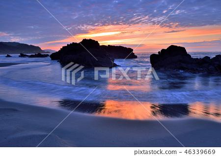外澳海灘晨曦海岸景觀 46339669