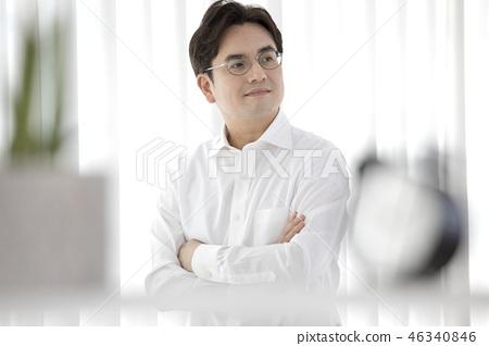 한국인,비즈니스,남자 46340846
