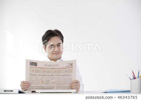 한국인,비즈니스,남자 46343765