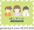 咳嗽礼仪海报 46345268