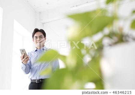 한국인,비즈니스,남자 46346215