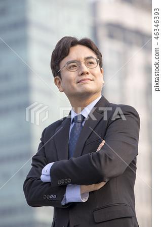 한국인,비즈니스,남자 46346393