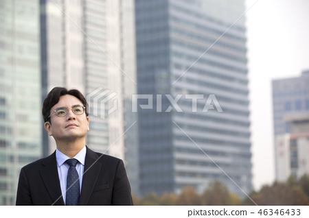 한국인,비즈니스,남자 46346433