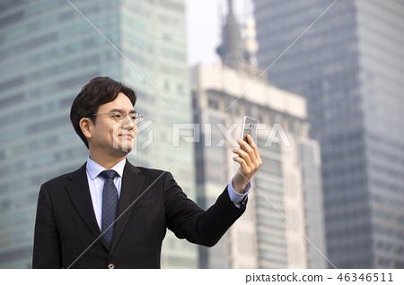 한국인,비즈니스,남자 46346511