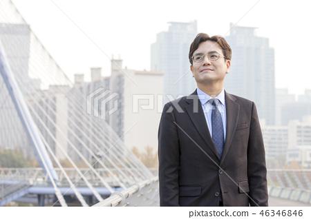한국인,비즈니스,남자 46346846