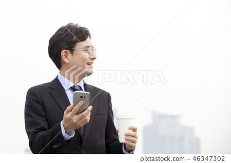한국인,비즈니스,남자 46347302