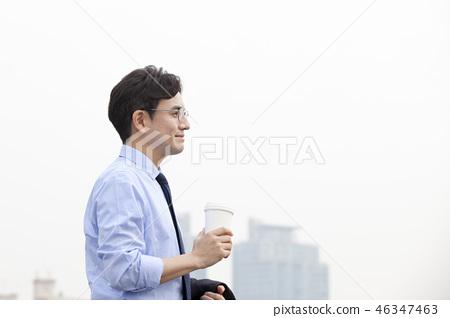 한국인,비즈니스,남자 46347463
