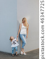 mother, daughter, family 46347725