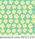 熊無縫模式 46351195