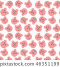 熊無縫模式 46351199