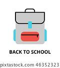 back school vector 46352323