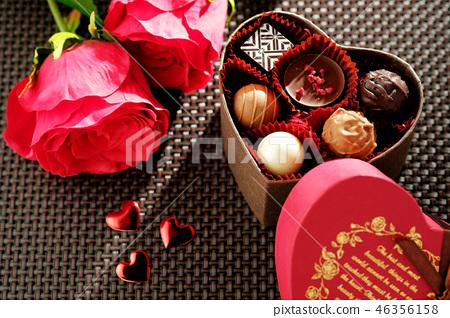 발렌타인 초콜릿 선물 상자 46356158