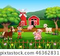 農業 農場 男生 46362831