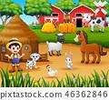 農業 農民 農夫 46362846