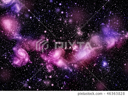 A space of the galaxy ,atmosphere with stars 46363828