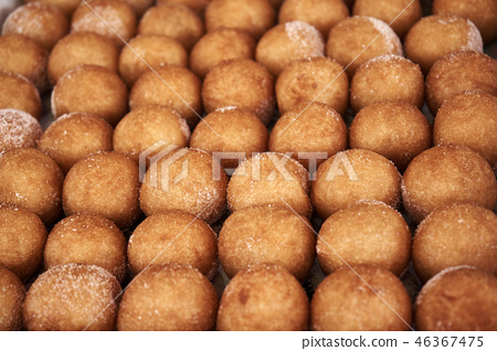찹쌀떡,꽈배기,간식,먹거리,시장,달콤함,음식,전통,길거리음식,튀김,베고픔, 46367475