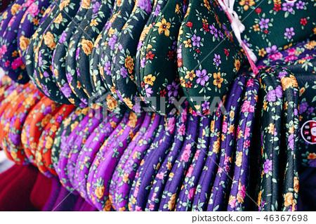 버선,겨울버선,겨울준비,시장,문화,전통,패턴,색,양말 46367698