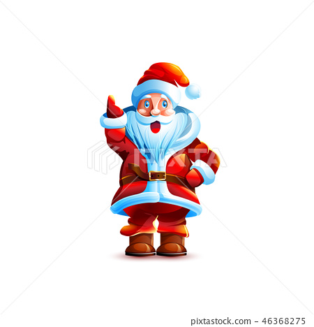 Illustration isolated character santa 46368275