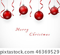 christmas, red, festive 46369529