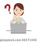 女商人休閒計算機 46371440