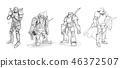 warrior knight fantasy 46372507