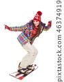 ski, snowboard, snow 46374919