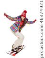 ski, snowboard, snow 46374921