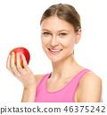 eating, female, woman 46375242