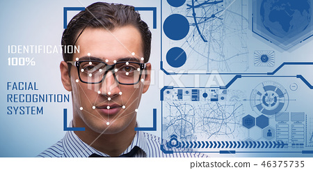Concept of face recognition software and hardware 46375735
