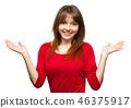 brunette, female, woman 46375917
