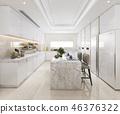 dining interior kitchen 46376322