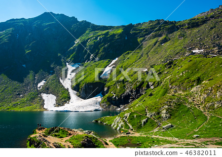 Lake Balea of Fagaras mountains 46382011