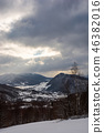 gloomy winter day in mountains 46382016