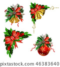 christmas, decoration, bell 46383640