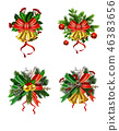 christmas, decoration, bell 46383656