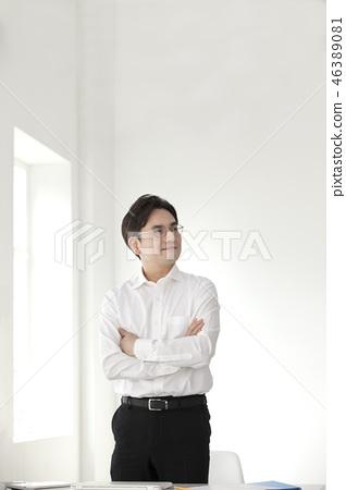 한국인,비즈니스,남자 46389081