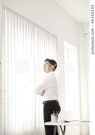 한국인,비즈니스,남자 46389143