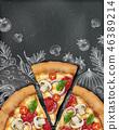 advertising blackboard chalkboard 46389214