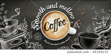 Coffee banner ads 46389235