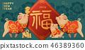 2019 新年 春节 46389360