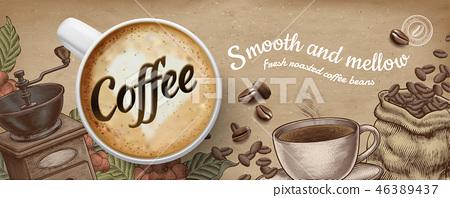 Coffee banner ads 46389437