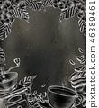 咖啡 咖啡豆 向量 46389461