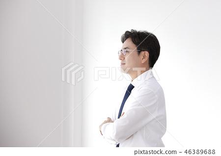 한국인,비즈니스,남자 46389688