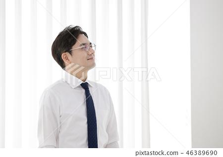 한국인,비즈니스,남자 46389690