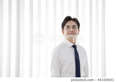 한국인,비즈니스,남자 46389691